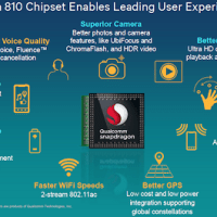 Qualcomm unveils 64-bit Snapdragon 810 and 808