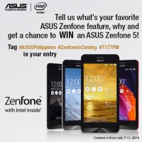 Update: Winner for the Asus Zenfone 5 Giveaway
