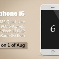 Goophone i6, the iPhone 6 clone with quad-core CPU
