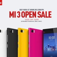 Xiaomi Mi 3 open sale starts now