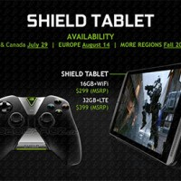 NVidia Shield Tablet with Tegra K1 starts at $299