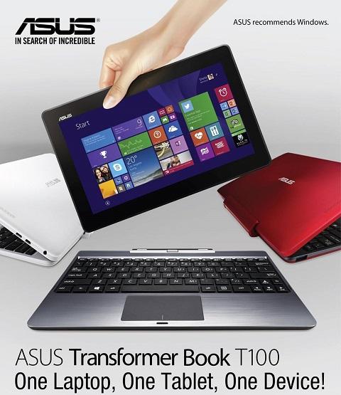 ASUS transformer Book T100 2014