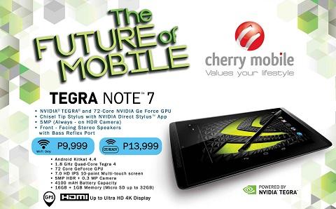 CM Tegra Note 7 LTE philippines