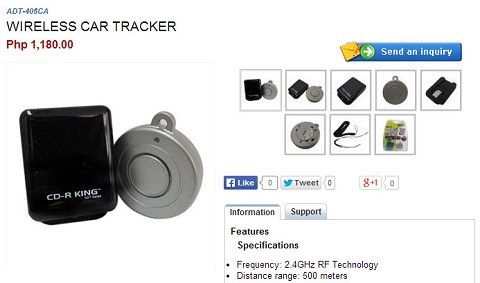 cdrking wireless tracker