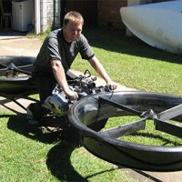 Hoverbike prototype is world's first flying motorcycle