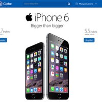 Globe iPhone 6 pre-registration now up!