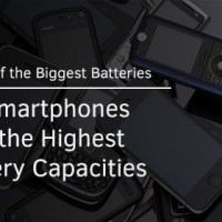 Bunch of the Biggest Batteries: 10 Smartphones With Highest Battery Capacities