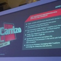 AMD Offiicially Announces Carrizo APU