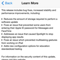 Apple Starts Seeding the iOS 8.1.3 Update