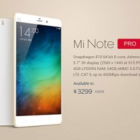 Xiaomi Mi Note Pro launches in China, gets price cut