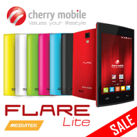Cherry Mobile Flare Lite to go on sale for Php1,999
