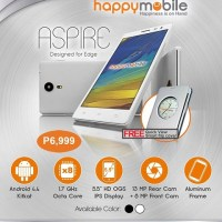 Happy Mobile Aspire: Octa-Core, 2GB RAM under Php7k