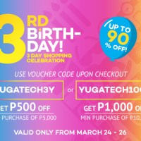 Get YugaTech Vouchers for Lazada's 3-Day Sale Here