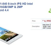 Acer Iconia Tab 8 (A1-840) now on Villman for Php7K