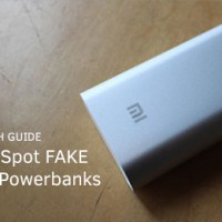 How to spot a fake Xiaomi Mi Powerbank