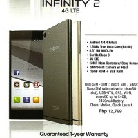 MyPhone Infinity 2: octa-core, LTE for under Php13K