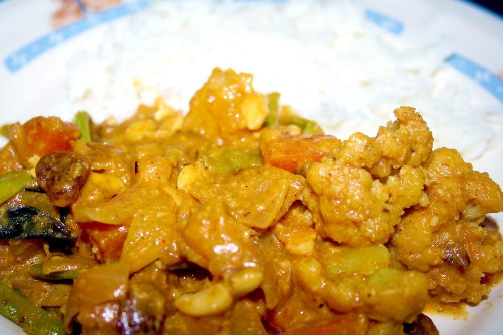 Kerala vegetable curry