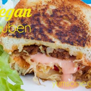 vegan reuben
