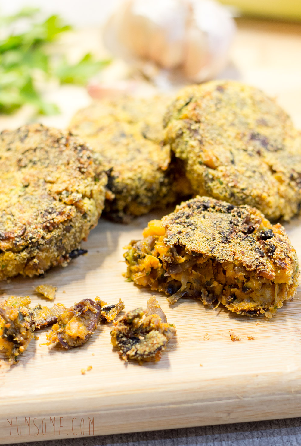 My ultimate veggie burgers are made with chickpeas, butternut squash ...