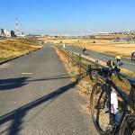 荒川サイクリングロードは微風で走りやすかった