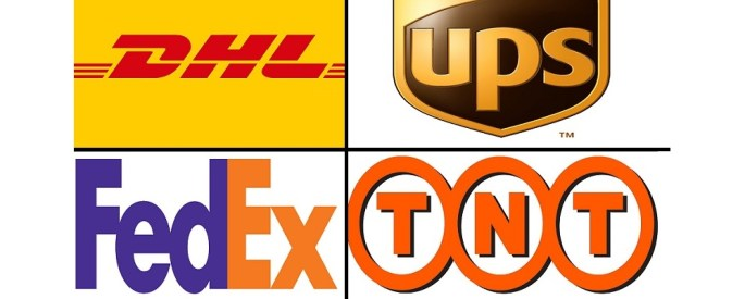 DHL FEDEX UPS TNT