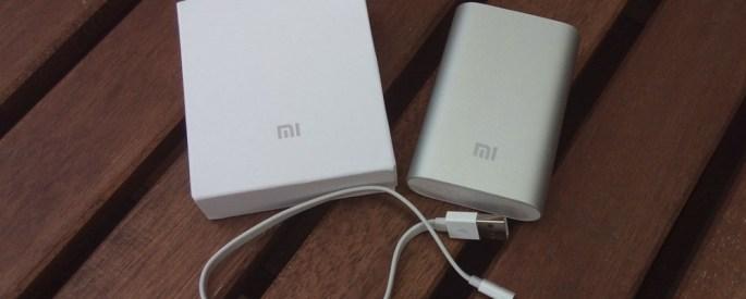 Xiaomi 10000 mAh powerbank satın aldık