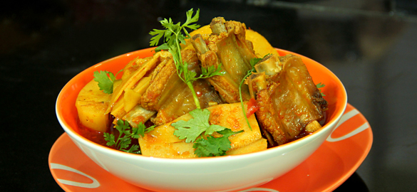 Pork and Bamboo Shoot Recipe