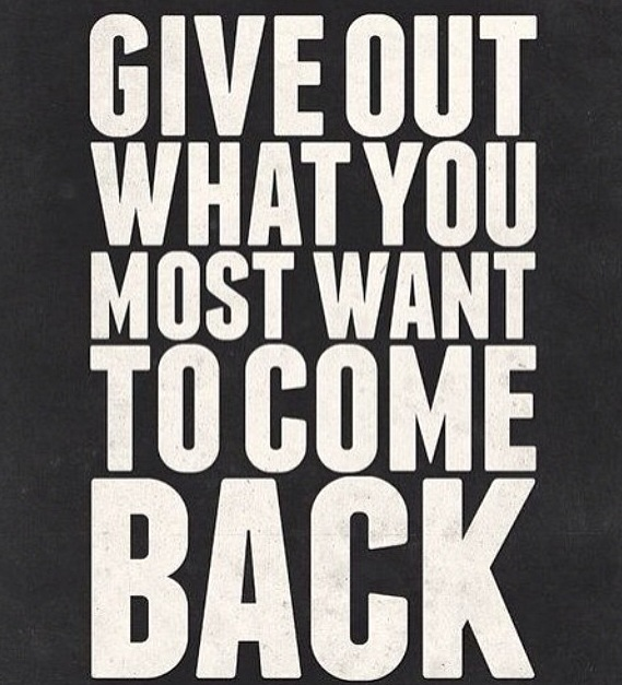 give out