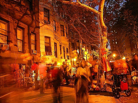 NY- Halloween Party on West 69th Street