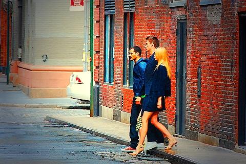 NY-Tribeca Model Photo shoot