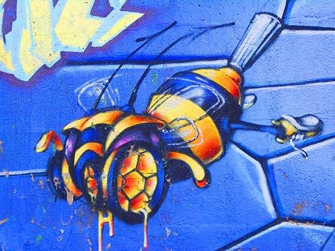 NY- Schoolyard Graffiti- 76th and Columbus