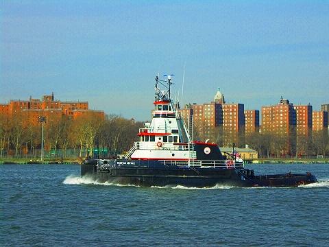 NY- Spartan Service Tugboat