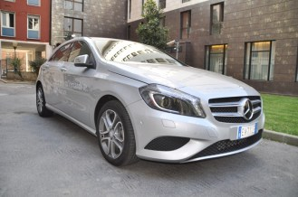 Mercedes-Benz-New-Class-A-in-the-road