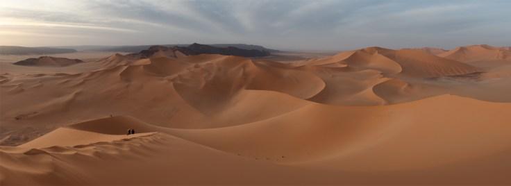 paysage sable desert
