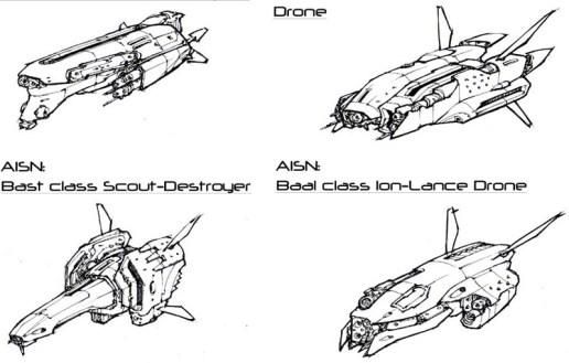 110-vaisseaux design concept dessin