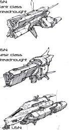114-vaisseaux design concept dessin