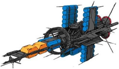 191-vaisseaux design concept dessin