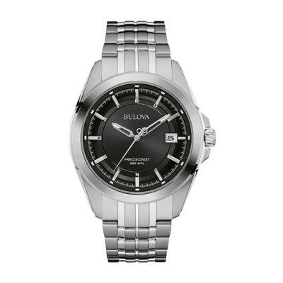 Men's Bulova Precisionist Watch with Black Dial (Model: 96B252)   Bulova   Watches   Zales