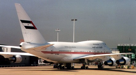 B747-2SP United Arab Emirates gov. A6-SMM