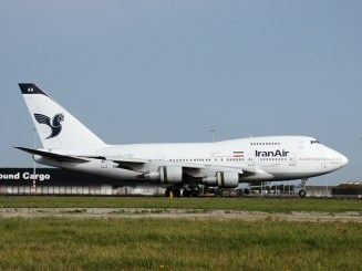 Boeing 747SP-86 EP-IAA Iran Air