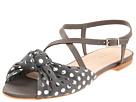 Loeffler Randall - Francie Knot (Grey/Grey) - Footwear