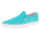 Vans - Classic Slip-On ((Checker) Ceramic/True White) - Footwear
