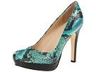 Calvin Klein - Kendall (Cobalt Blue/Green Two Tone Snake) - Footwear
