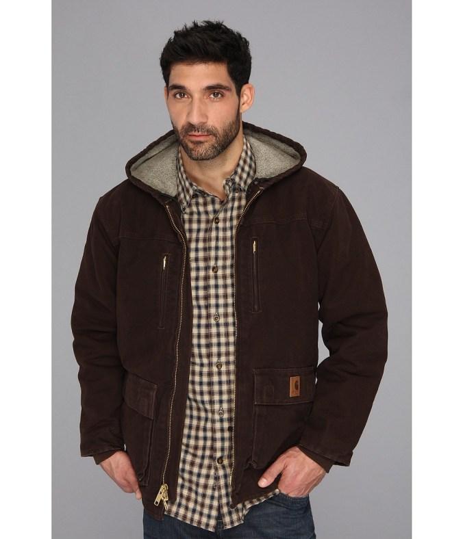 Carhartt - Sandstone Jackson Coat - Tall (Dark Brown) Men's Coat