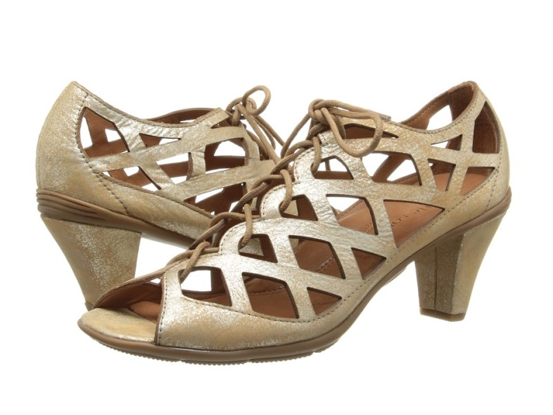 Gentle Souls Okey Dokey (Gold) High Heels