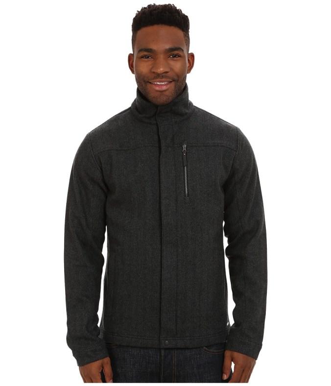 Smartwool - Finch Lake Coat (Charcoal) Men's Coat