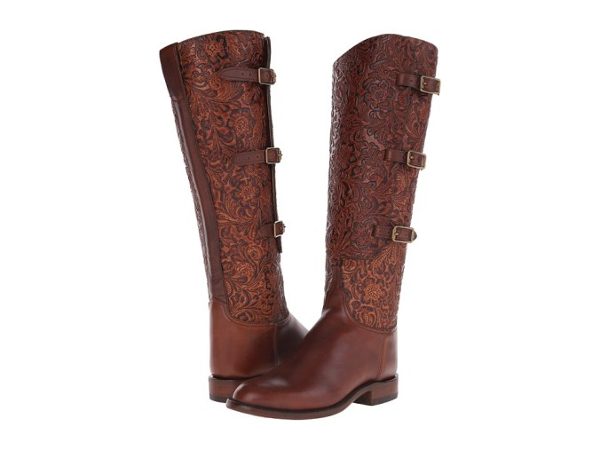 Lucchese - L4995.RR (Chocolate) Cowboy Boots