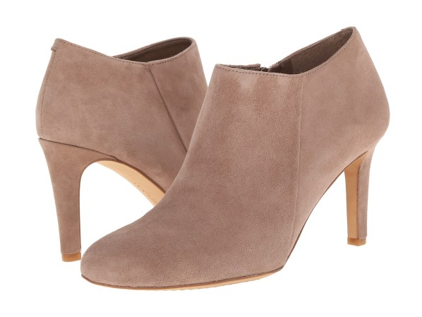 Image result for VINCE CAMUTO Peep Toe Braided Suede Shooties