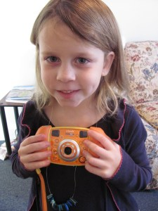 Damaris and her Camera