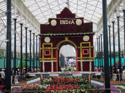 Flower show in Bangalore wallpapers and images - wallpapers, pictures, photos